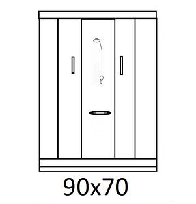 Гідробокси розміром 90х70