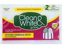 Duru Clean & White мыло хозяйственное против сложных пятен 4х125 г