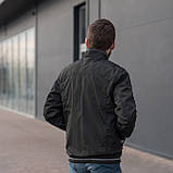 Чоловіча куртка (вітрівка) хакі кольору., фото 4