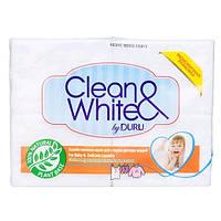 Duru Clean & White мыло хозяйственное для стирки детских вещей 4х125г