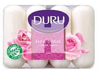 Duru Pure and Natural мило туалетне Троянда 4х85г