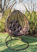 Подвесное кресло кокон Колибри Шоколад