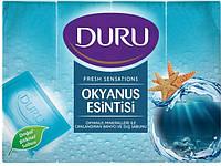 Duru Fresh Sensations мыло для душа Океанский бриз 4х150г