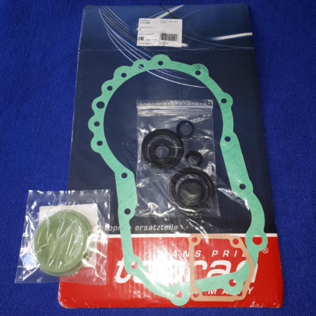 Комплект прокладок + сальники КПП A11-А15-480 Чери Амулет Chery Amulet TOPRAN