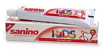 Sanino детская зубная паста Kids 50 мл Нежный уход