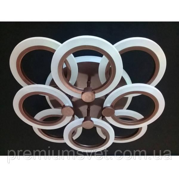 Люстра припотолочная A 3003/4+4 CF LED 3color dimmer
