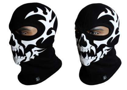 Балаклава с черепом Rough Radical Scull S5 (original), маска, подшлемник, фото 2