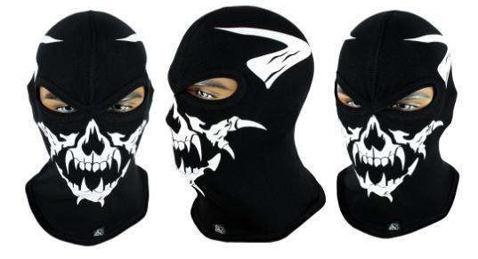 Балаклава с черепом Rough Radical Scull S6 (original), маска, подшлемник, фото 2