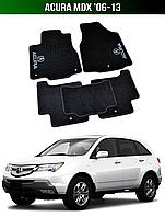Коврики Acura MDX '06-13. Текстильные автоковрики Акура МДХ