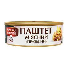 """Паштет """"Пражский"""" мясной """"MARCO ARONNI"""", 240 грамм"""