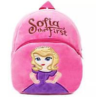 Детский плюшевый рюкзак Покемон, фото 1