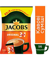 Кофейный напиток Jacobs 3 in 1 Original 56 x 12 г