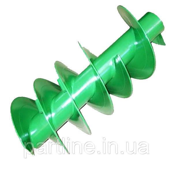 Шнек John Deere 9770, 9670, 9880 разгрузочный вертикальный усиленный, D=330 мм AH164070 (AH146840)