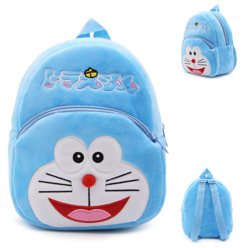 Детский рюкзак с котом плюшевый