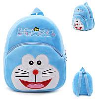 Детский рюкзак с котом плюшевый, фото 1