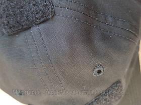 Бейсболка Helikon PoliCotton Ripstop Black (CZ-BBC-PR-01), фото 3