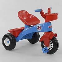 Велосипед детский трехколесный Pilsan 07-169 Красно-синий