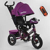 Детский трехколесный велосипед Best Trike 7700 В / 76-839 Фиолетовый