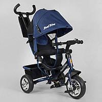 Детский велосипед трехколесный Best Trike 6588 - 17-636 Синий (колеса пена)