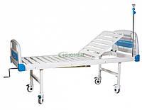 """Ліжко лікарняне """"БІОМЕД"""" FB-23 ( 2-секційне, механічне) на колесах"""