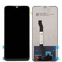 Дисплей для мобильного телефона Xiaomi RedMi Note 8T, черный, с тачскрином