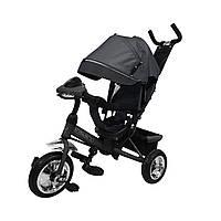 Велосипед трехколесный для детей Tilly Storm T-349 Серый, колеса пена