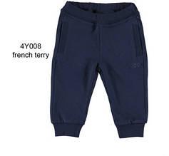 Дитячі спортивні штани для хлопчика iDO Італія 4Y008 / 00 Синій 74 см весеннии восени демісезонні