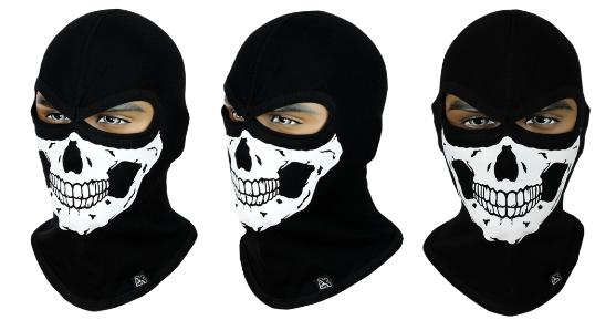 Балаклава с черепом Rough Radical Scull S4 (original), маска, подшлемник, фото 2