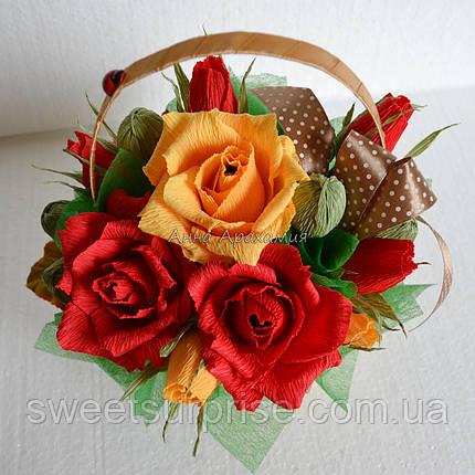 Осенний букет из конфет (мини), фото 2