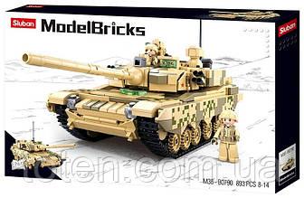 """Конструктор Армія - """"Танк 2 в 1"""" (Sluban M38-B0790) 18-10"""