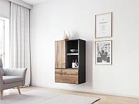 Гостиная Roco 17 антрацид/дуб вотан (модульная мебель) (Cama)