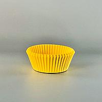 Бумажные формы 50х30 мм (100 шт.) желтые
