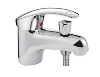 Змішувач для умивальника з гігієнічним душем Frap H21 F1221