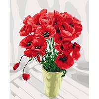 Картины по номерам КНО3065 Букет для мамы ,40*50см, Идейка