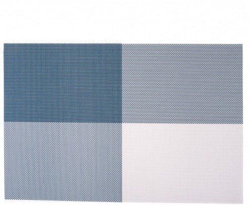 Сервировочные коврики | Коврик для сервировки серо-синего цвета 450*300мм 7045