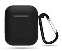 Силиконовый чехол, оригинальный, Soft Touch- для Air Pods -черный
