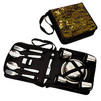 Подарочный набор для пикника BST 100004 24х23х8 см на 6 персон