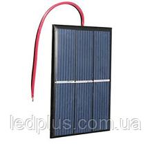 Солнечная панель 80х60мм 0.65Вт 1.5В