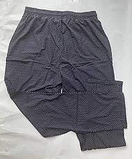 БАТАЛЬНЫЕ летние штаны N°17/3 чёрный, фото 3