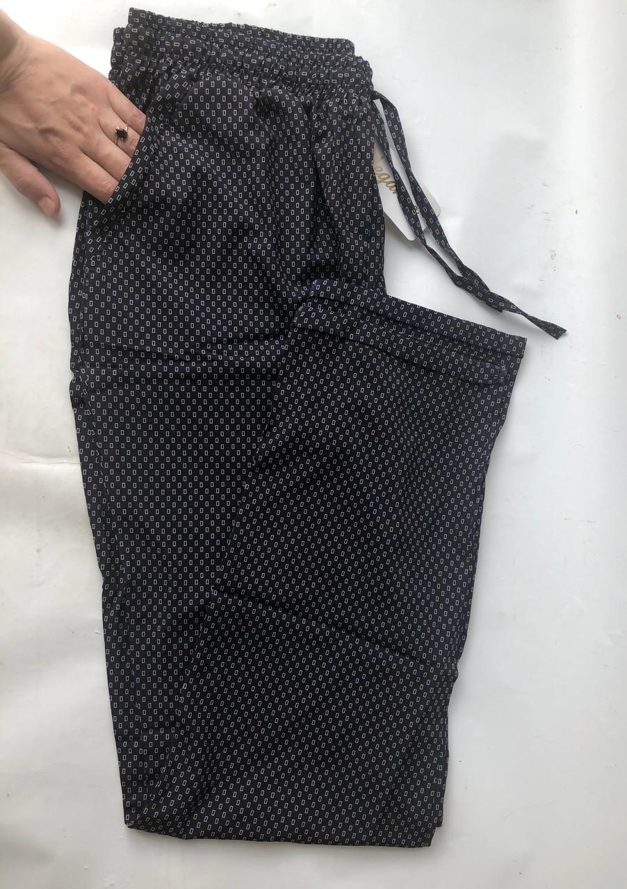 БАТАЛЬНЫЕ летние штаны N°17/3 чёрный