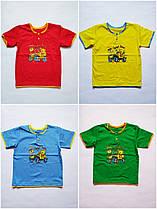 Детская футболка для мальчика 6,7,8,9,10,11,12 месяцев 1,2 года