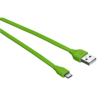 Кабель urban revolt micro-usb cable 1 метр lime (20138)