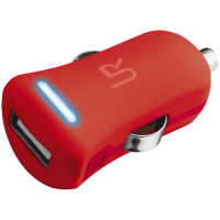 Зарядное устройство  urban revolt smart car charger red (20153)