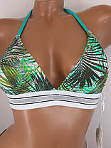 Купальник бикини треугольник Kesell 2146 зеленый на 42 44 46 48 50 размер, фото 2