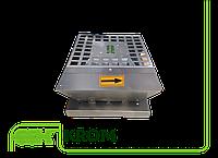 Крышный радиальный вентилятор малой высоты в шумоизолированном корпусе KROM-S-3,10