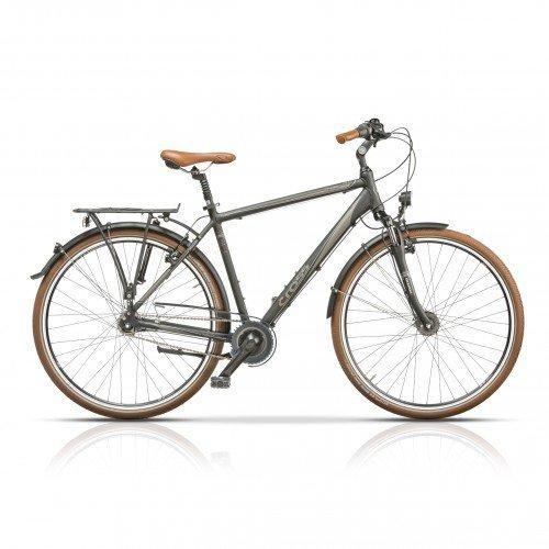 "Велосипед 28"" CROSS Citerra Man 7 spd рама 22"" 2015 серый"