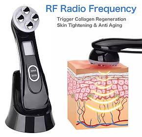 Аппарат для безинъекционной  мезотерапии с RF, EMS,LED функциями., фото 2