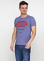Сиреневая футболка с надписью Dinersi