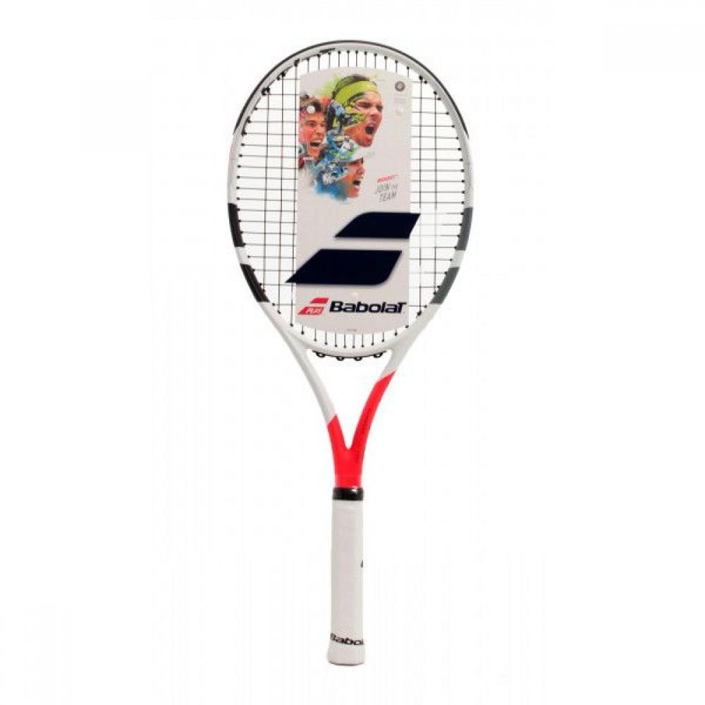 Ракетка для большого тенниса Babolat Boost Strike white/red