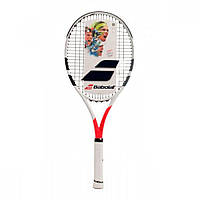 Ракетка для большого тенниса Babolat Boost Strike white/red, фото 1